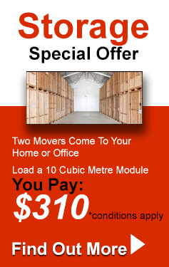 Self Storage Special Offer - Pittwater Removals