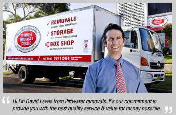 David Lewis, owner Pittwater Removals & Storage, Dee Why