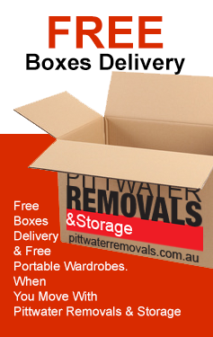 Move with Pittwater removals and we'll deliver boxes free