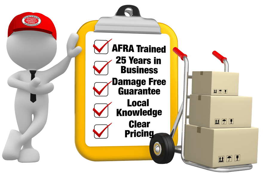 Pittwater Removals & Storage - AFRA Trained Professionals