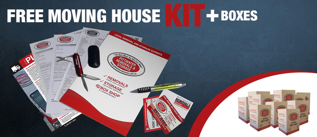 Free Moving House Kit Plus Boxes - Pittwater Removals & Storage